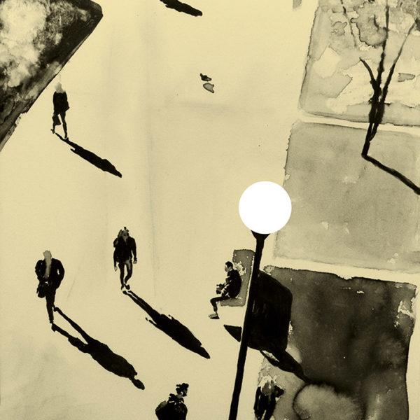 Joakim Allgulander - Litografi - Surveillance I