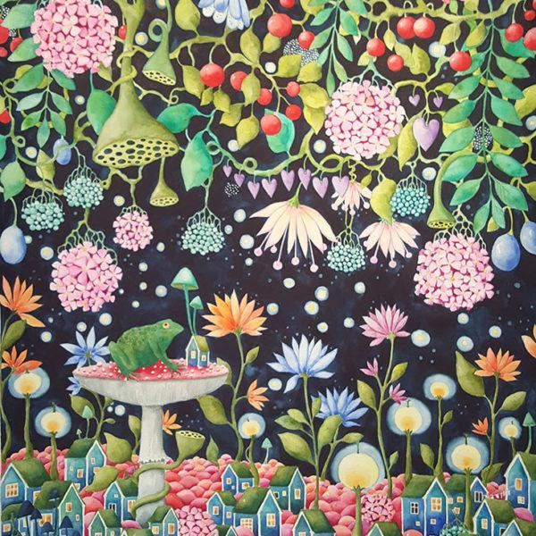 Josefina Wendel Carlsson - Akvarell - Good Vibes!