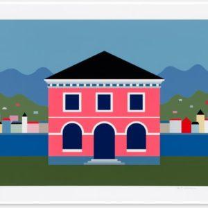 KG Nilson - Litografi - Villa