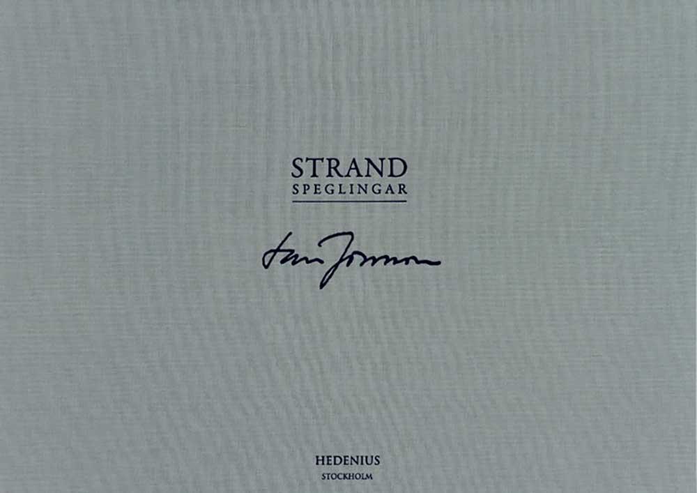 Lars Jonsson - Strandspeglingar - Grafisk portfölj med fem litografier
