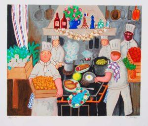 Lennart Jirlow - Restaurangköket