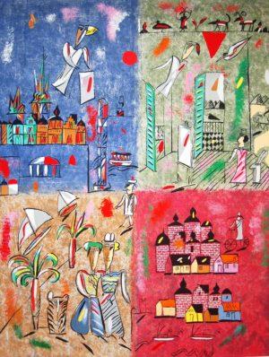 Madeleine Pyk - Fyra kontinenter