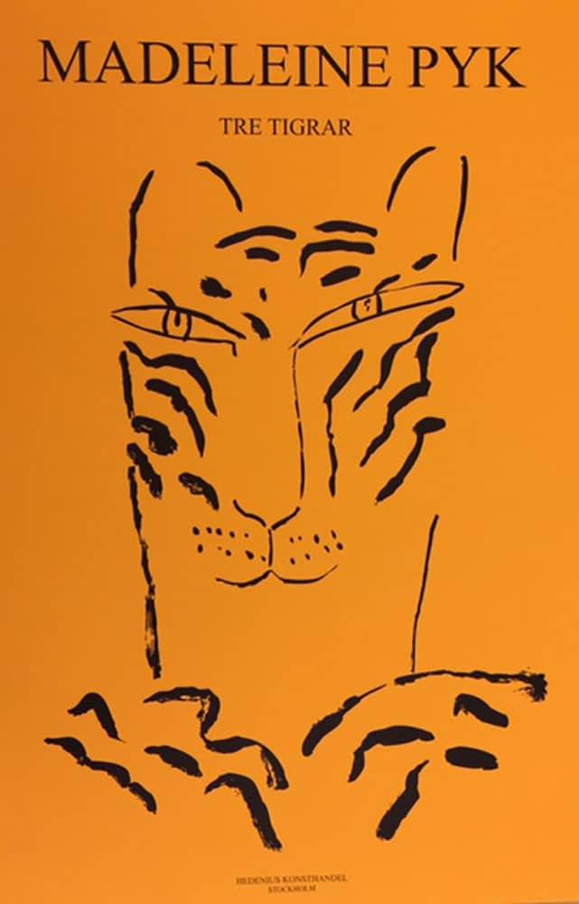 Madeleine Pyk - alla tre tigrar