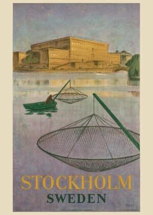 Yngve Berg - Fiskare på Stockholms ström