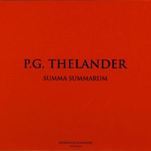 PG Thelander - Litografi - Grafisk Portfölj