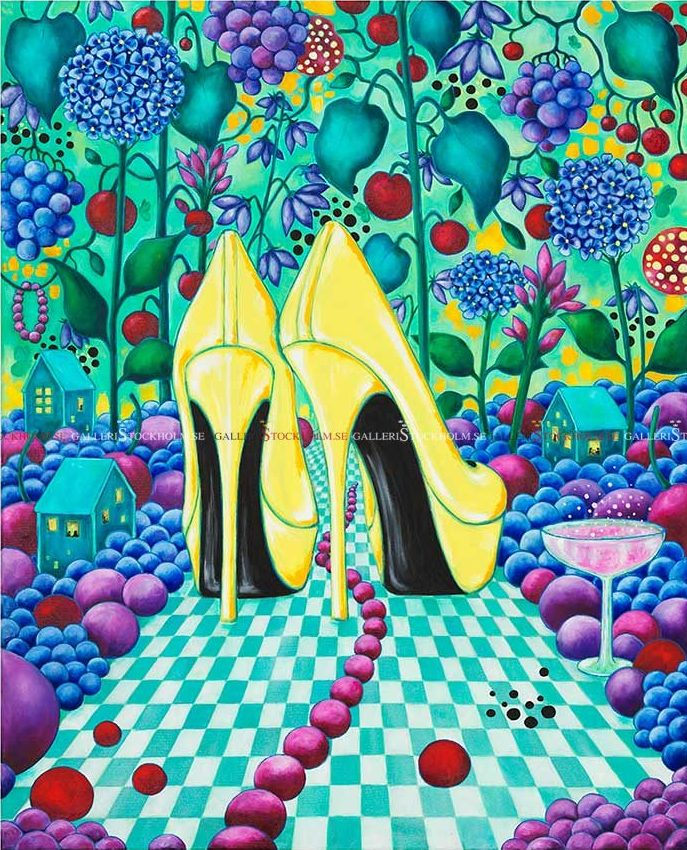 Josefina Wendel Carlsson - Party Shoes