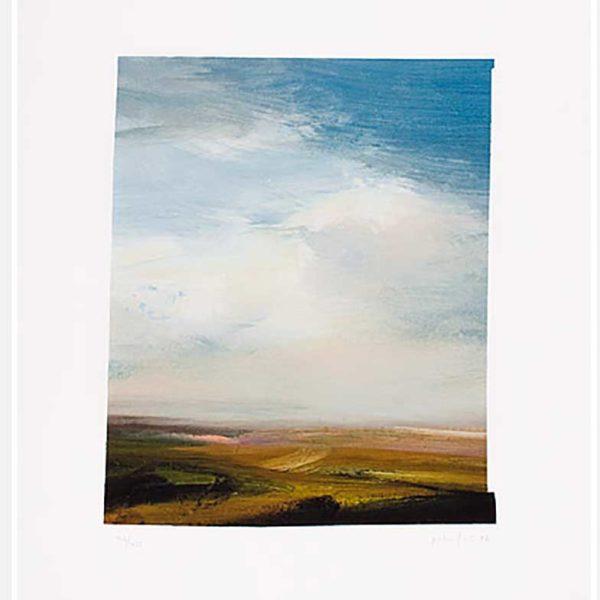 Peter Fries - Litografi - Landskap