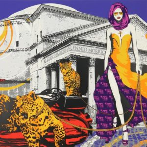 Richard Ryan - Woman With Leopards