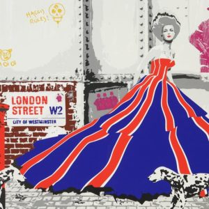 Richard Ryan - Silkescreentryck - London Street