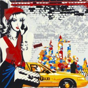 Richard Ryan - Silkescreentryck - Thelma at Broadway