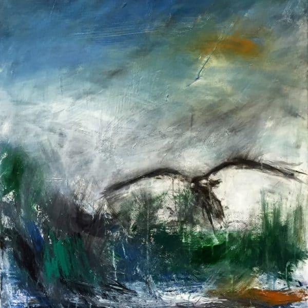Rickard Ölander - Litografi - Tvivel