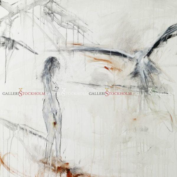 Rickard Ölander - Litografi - Tar emot dig