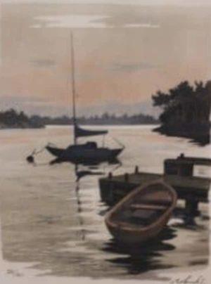 Roland Svensson - Vid bryggan