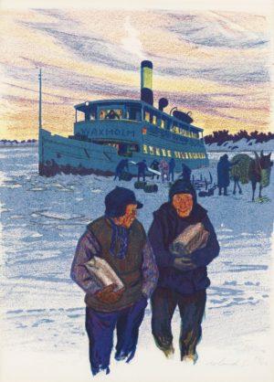 Roland Svensson - Vinterbåten