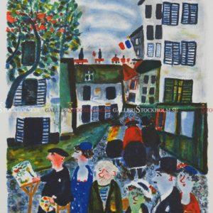 Sven Lidberg - En målare i Paris