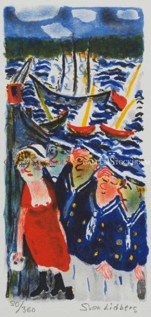 Sven Lidberg - Flottans käcka grabbar