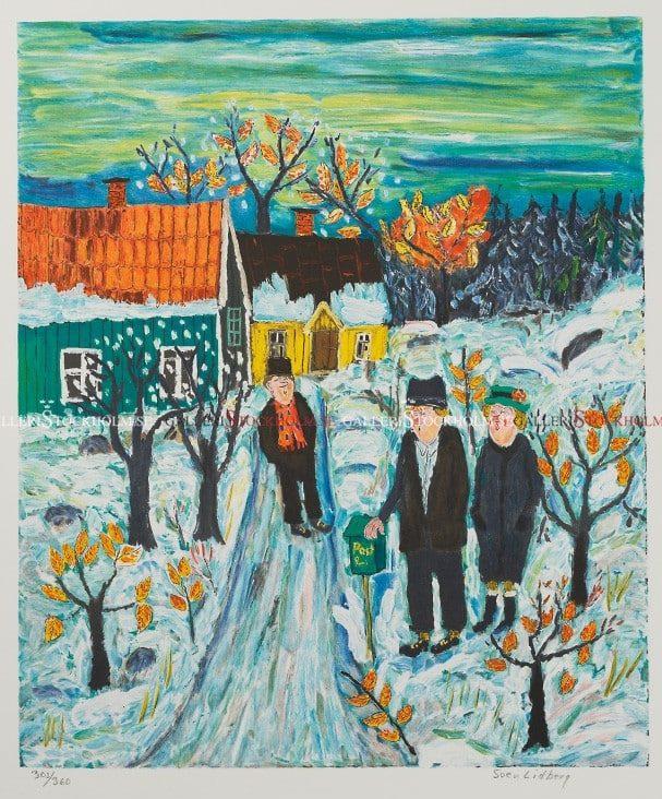 Sven Lidberg - Äntligen Vinter