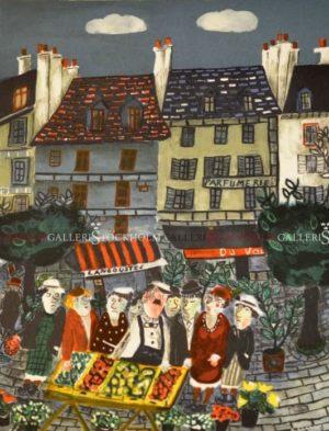Sven Lidberg - Marknaden