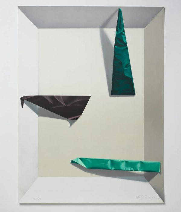 Yrjö Edelmann - Litografi - Illusions in the Box