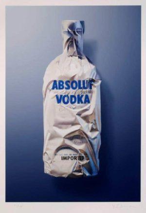 Yrjö Edelmann - Litografi - Absolut Vodka