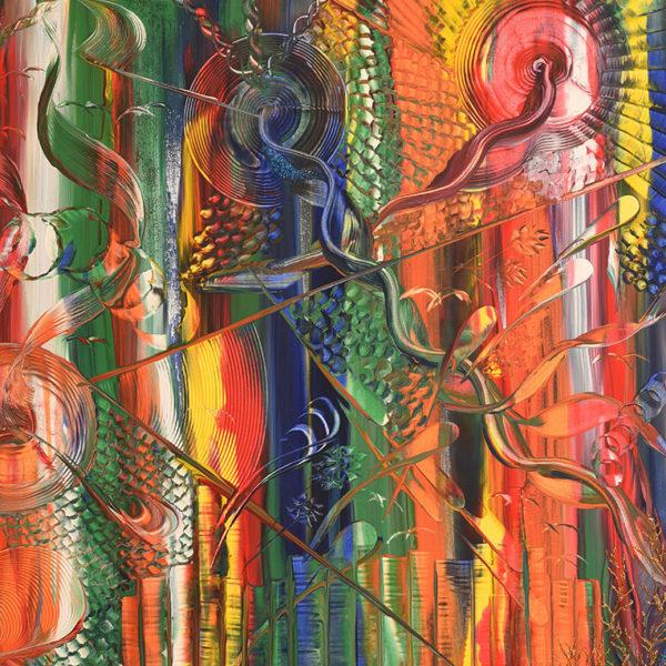 Niclas Thalberg - Oljemålning - Time Square