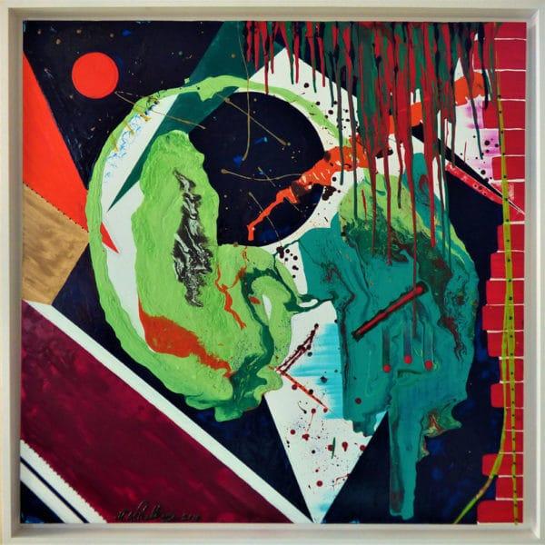Niclas Thalberg - Oljemålning - En annorlunda värld