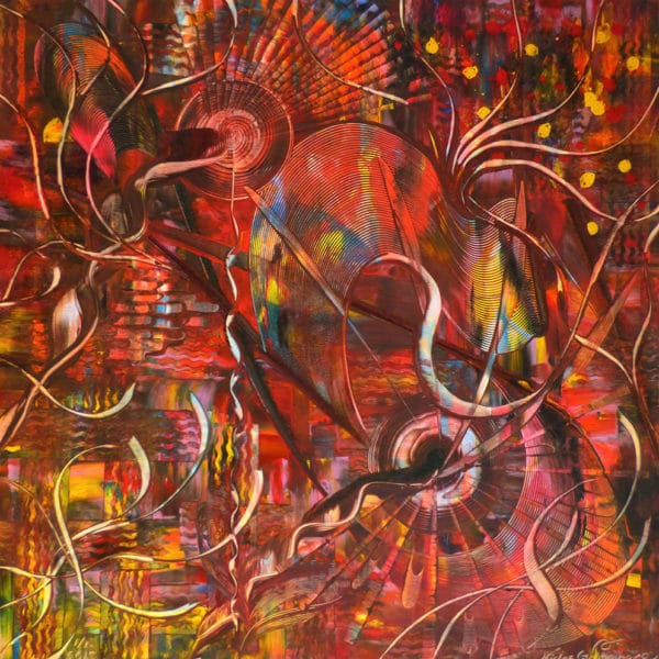Niclas Thalberg - Olja & Akryl - New Beginning