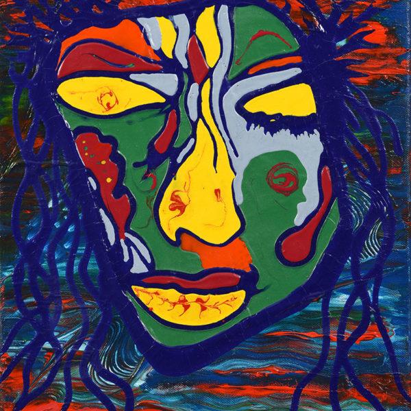 Niclas Thalberg Blue Face