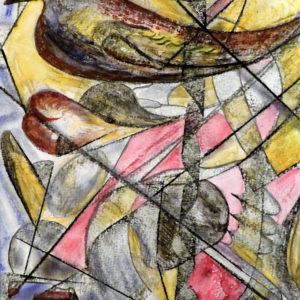 Niclas G Thalberg - Akvarell - Fågel