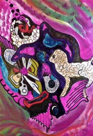 Niclas G Thalberg - Akvarell - Fantasi