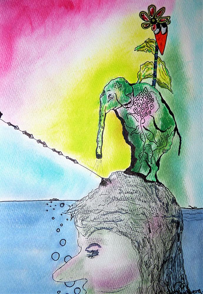 Niclas G Thalberg - Kvinnan i sjön