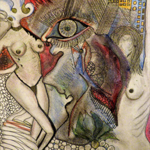 Niclas G Thalberg - Akvarell - Kvinnorus