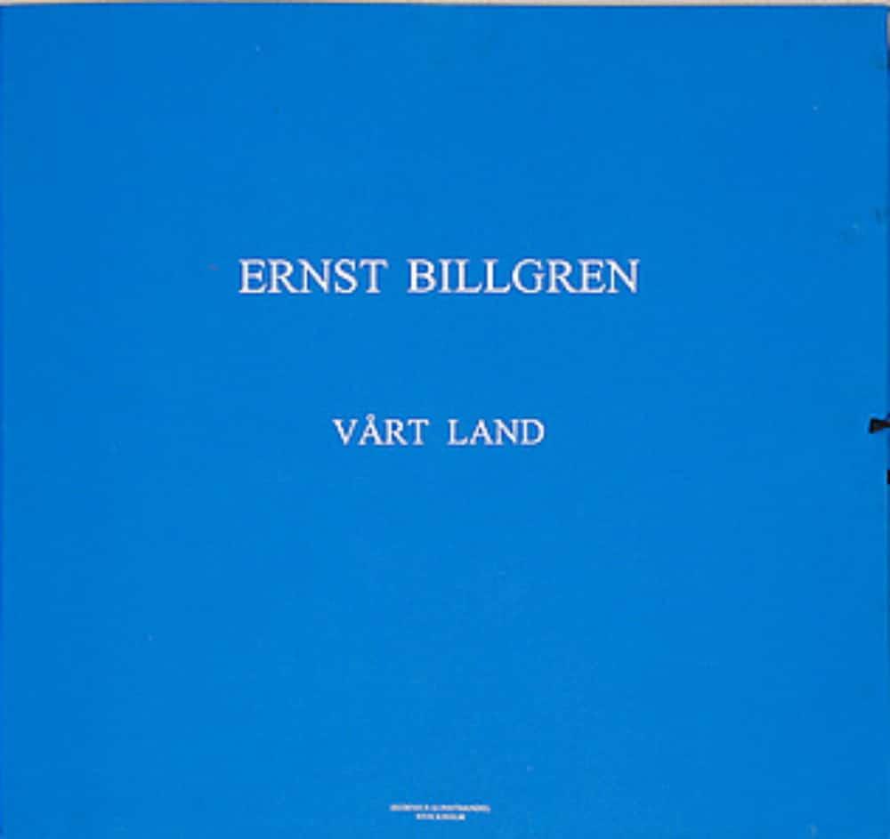 Ernst Billgren - Vårt land