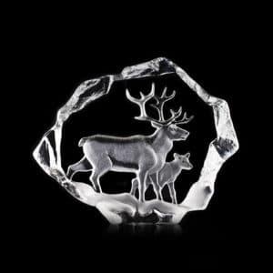 Mats Jonasson - Reindeer Family