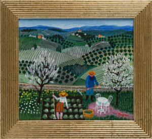 Anders Hultman - Vårbruk i Toscana