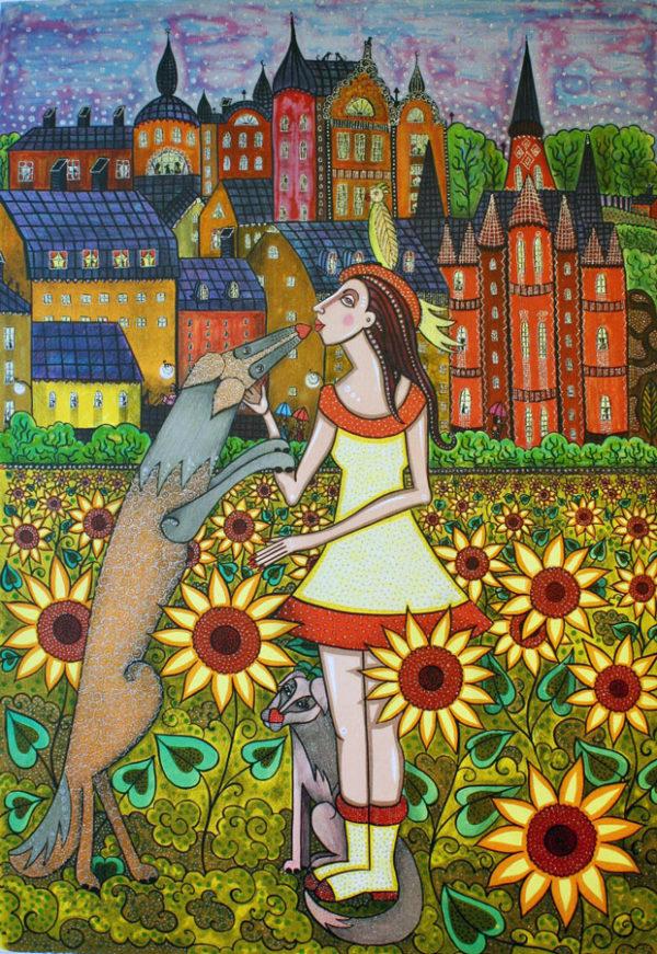 Angelica Wiik - Drömmarnas fält
