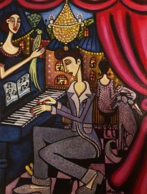 Angelica Wiik - Pianobaren