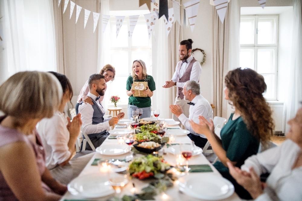 Middagsbjudningspresent