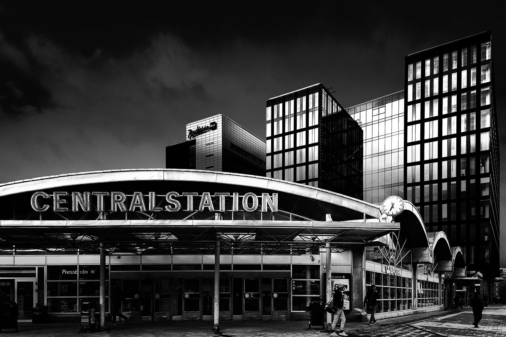 Jonny Ullström - Stockholms centralstation