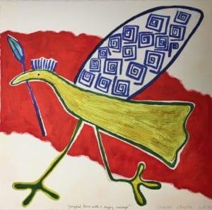Jeanette Karsten - Yellow Bird Running