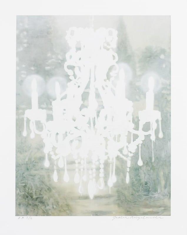 Joakim Allgulander - White Chandelier
