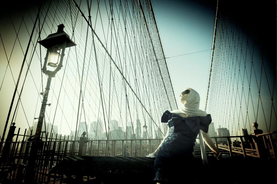Richard Ryan - Brooklyn Bridge By Night
