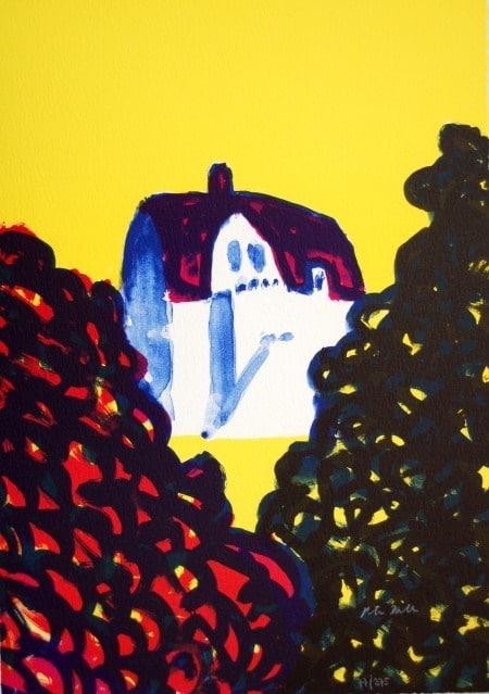 Peter Dahl - Farmors hus en drömbild