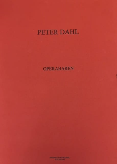 Peter Dahl - Operabaren portfölj