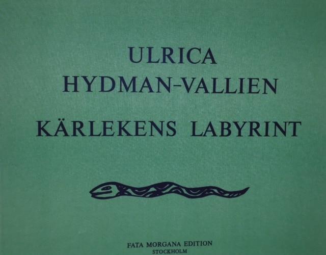 Ulrica Hydman Vallien - Kärlekens labyrint portfölj