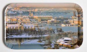Magnus Svensson - Stockholm Flygbild vinter