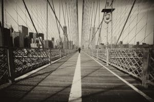 Per Mikaelsson - Boardprint Brooklyn Bridge