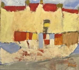 Anders Palmér - Skärgårdsbåt vid Strandvägen 1