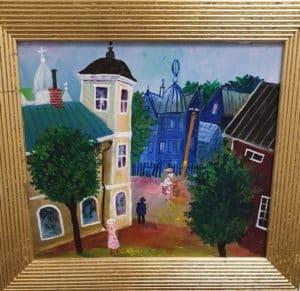 Anders Hultman - Blått hus