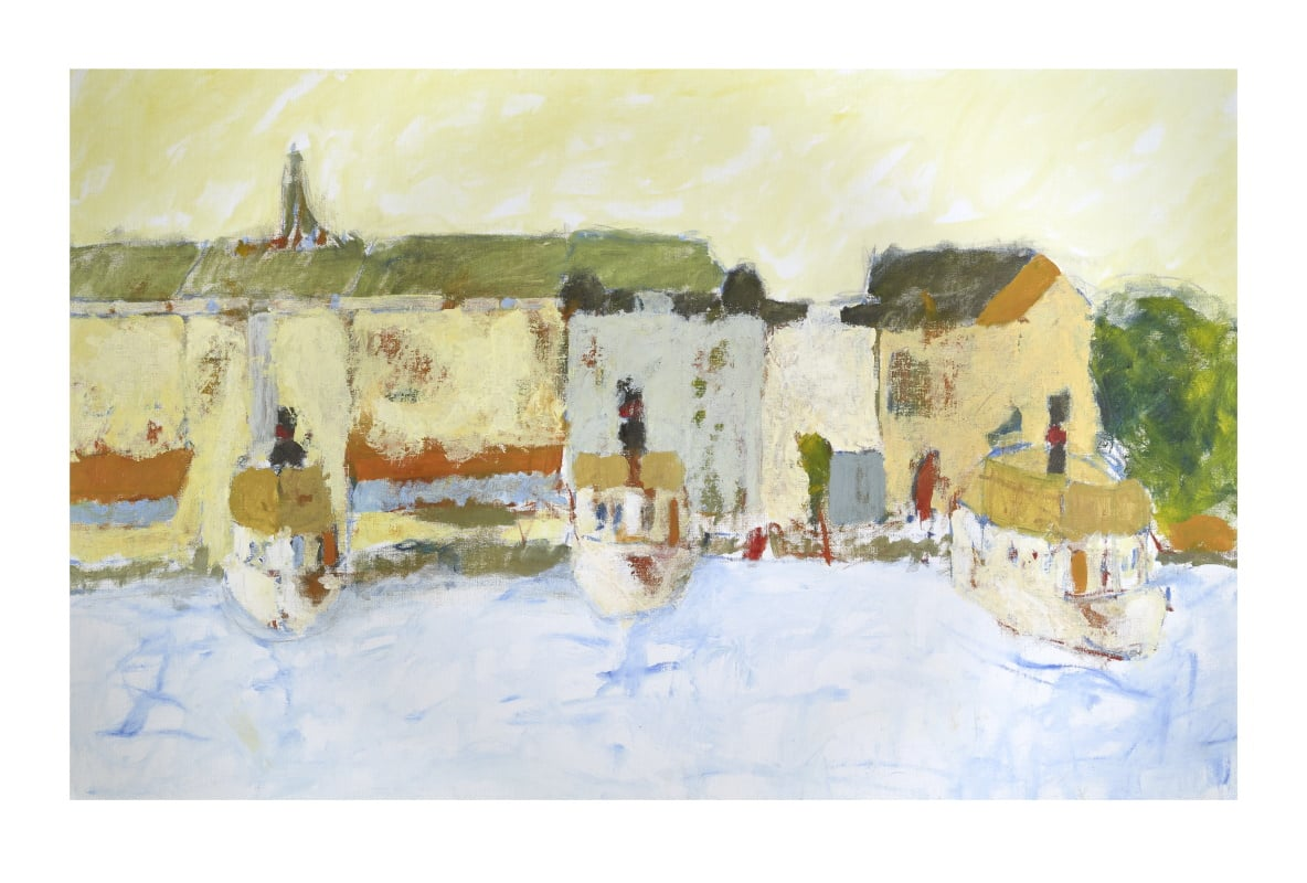 Anders Palmér - Tre skärgårdsbåtar